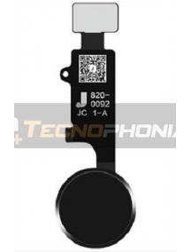 Cable flex de botón home V3 (Haptic) iPhone 7 - 7 Plus - 8 - 8 Plus negro