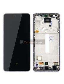 Pantalla LCD display Samsung Galaxy A52 A525 A526 violeta original (Service Pack)