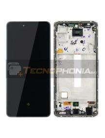 Pantalla LCD display Samsung Galaxy A52 A525 A526 blanco original (Service Pack)