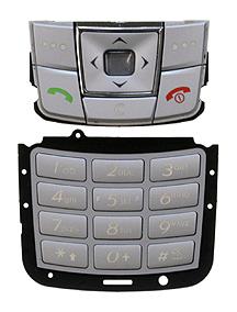 Teclado Samsung E250 plata