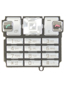 Teclado Sony Ericsson T700 plata