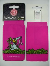 Funda - Calcetín Kukuxumusu princesa con sapos rosa