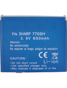 Batería Sharp 770 compatible
