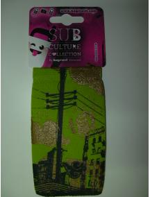 Funda - calcetín Bagmóvil Sub Culture Ciudad verde - dorado