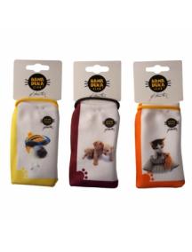 Funda - bolsa Hana Deka perro amarillo - blanco