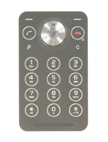Teclado Sony Ericsson R306 negro