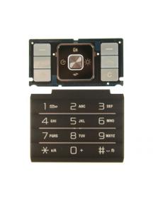 Teclado Sony Ericsson C905 plata - negro