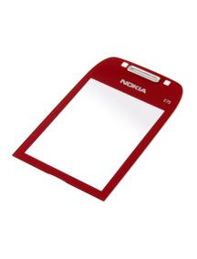 Ventana Nokia E75 roja