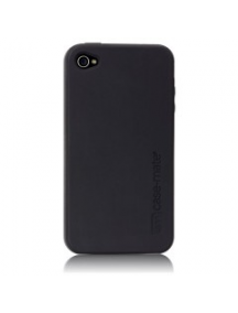Funda de silicona Case-Mate negra iPhone 4