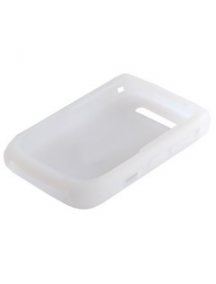 Funda de silicona Blackberry 8900 blanca