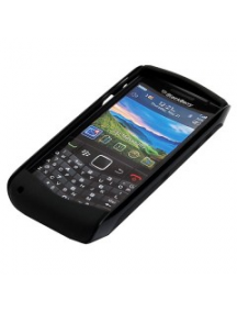 Funda de silicona Blackberry ASY-29750 negra con marco externo d