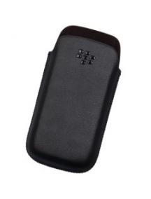 Funda de piel Blackberry HDW-29556 negra
