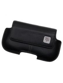 Funda de piel Blackberry HDW-18965 negra