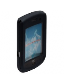 Funda de silicona Blackberry 9800 - 9930 negra
