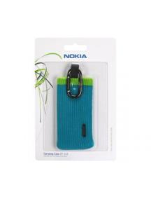 Funda - calcetín Nokia CP-516 azul - verde