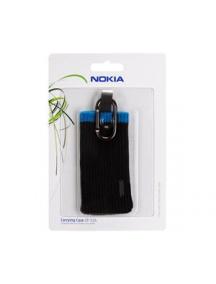 Funda - calcetín Nokia CP-516 negra - azul
