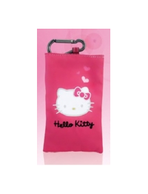 Funda de nylon Hello Kitty rosa