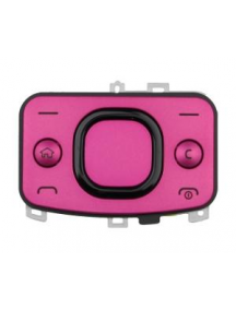 Teclado de navegación Nokia 6700 slide rosa