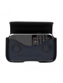 Funda de piel Blackberry HDW-19593 azul