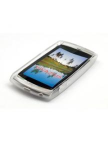 Funda de silicona TPU Sony Ericsson U5i Vivaz transparente