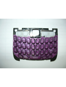 Teclado Blackberry 8520 morado