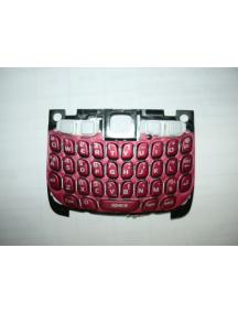 Teclado Blackberry 8520 rojo
