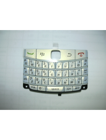 Teclado Blackberry 9780 blanco