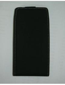 Funda de solapa en piel Incase para Nokia X7 negra