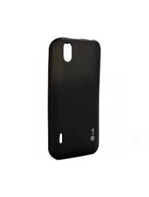 Funda de silicona LG CCR-250 negra