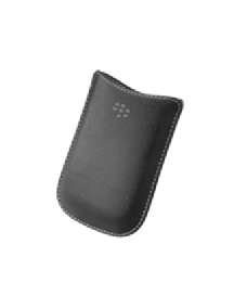 Funda de piel Blackberry HDW-18962 negra