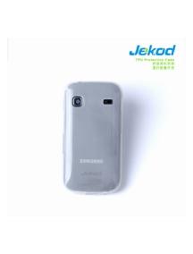 Funda TPU + lámina disp. Jekod Samsung Galaxy Gio S5560 blanca
