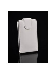 Funda de solapa en piel Telone iPhone 4 - 4S blanca