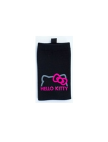 Funda calcetín Hello Kitty negra