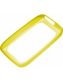 Funda de silicona Nokia CC-1046 amarilla