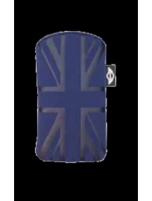 Funda cartuchera Mini Cooper bandera azul