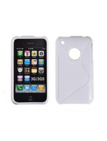 Funda TPU Telone S-case iPhone 3G - 3GS blanca