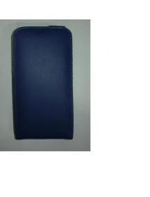 Funda de solapa en piel Doormoon Samsung i9300 azul