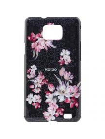 Protector rígido Kenzo Samsung i9100 Galaxy S II negro