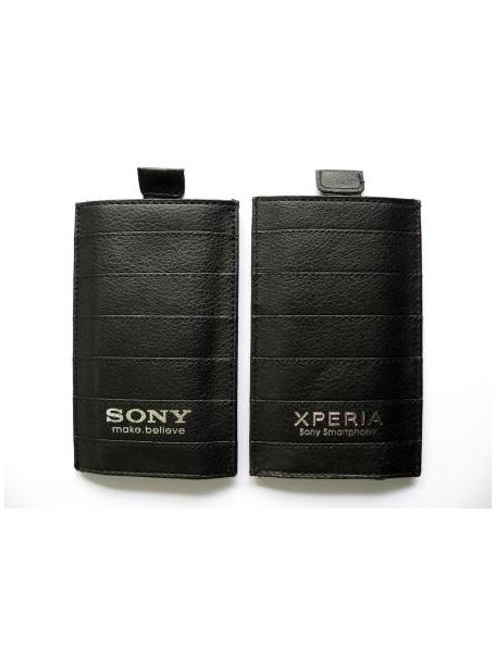Funda Bolsa S Cinta Sony Ericsson Xperia Tecnophonia Negra Lt26i Con CoBexd