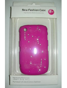 Protector rígido New Fashion fucsia Blackberry 8520