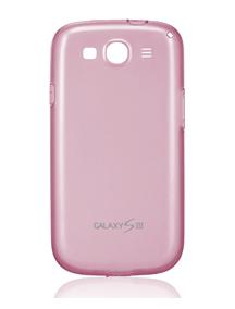 Funda TPU Samsung EFC-1G6WPECSTD Galaxy S III i9300 rosa