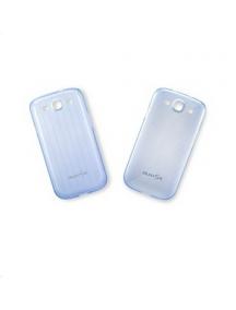 Funda TPU Samsung EFC-1G6SBE Galaxy S III i9300 azul puntitos
