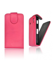 Funda de solapa Forcell Prestige Samsung Galaxy S II i9100 rosa