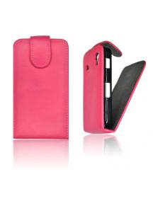 Funda de solapa Forcell Prestige Sony Ericsson Xperia Neo rosa