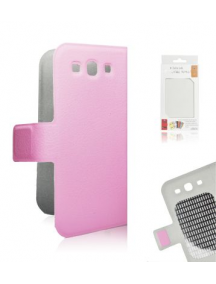 Funda libro slim Samsung Galaxy S III i9300 rosa