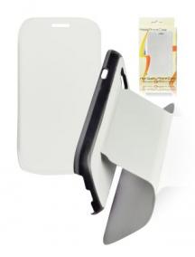 Funda libro Samsung Galaxy S III i9300 blanca