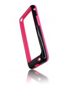 Funda bumpers Forcell Samsung Galaxy S II i9100 negra - rosa