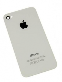 Carcasa trasera Apple iPhone 4 blanca compatible