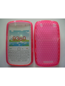 Funda TPU Blackberry 9360 rosa