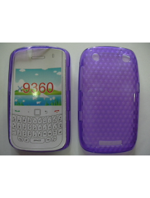 Funda TPU Blackberry 9360 lila